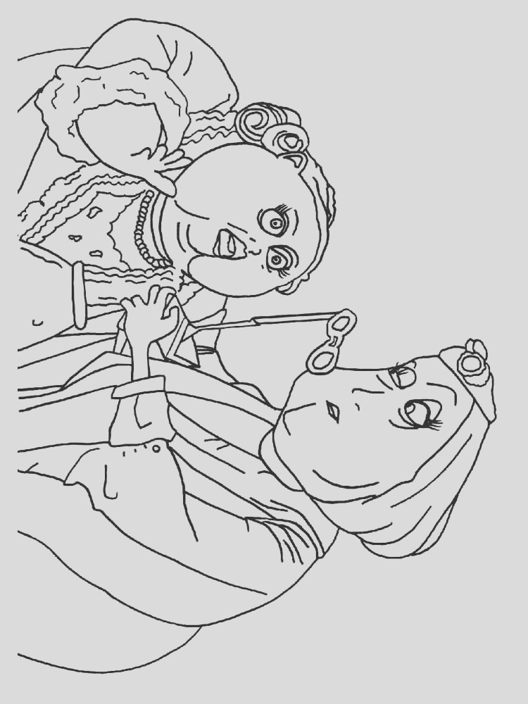 coraline coloring pages