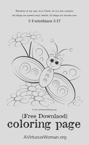 free a new creation coloring page