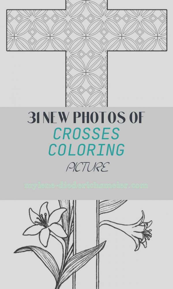 Crosses Coloring Picture Elegant Free Printable Cross Coloring Pages