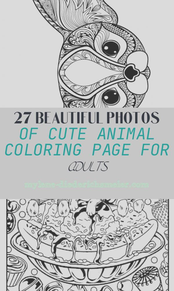 Cute Animal Coloring Page for Adults Inspirational Print Zen Cute Cat Adult Coloring Pages