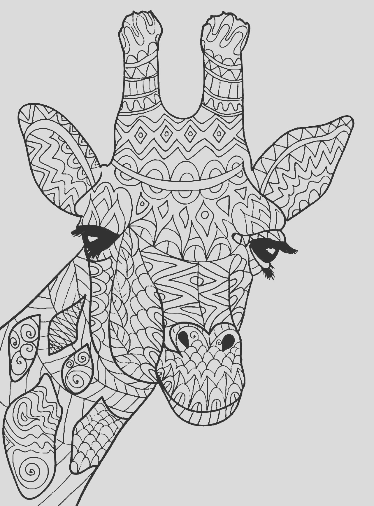 image=giraffes coloring pages for children giraffes 1