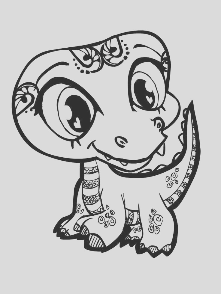 super cute animal coloring pages