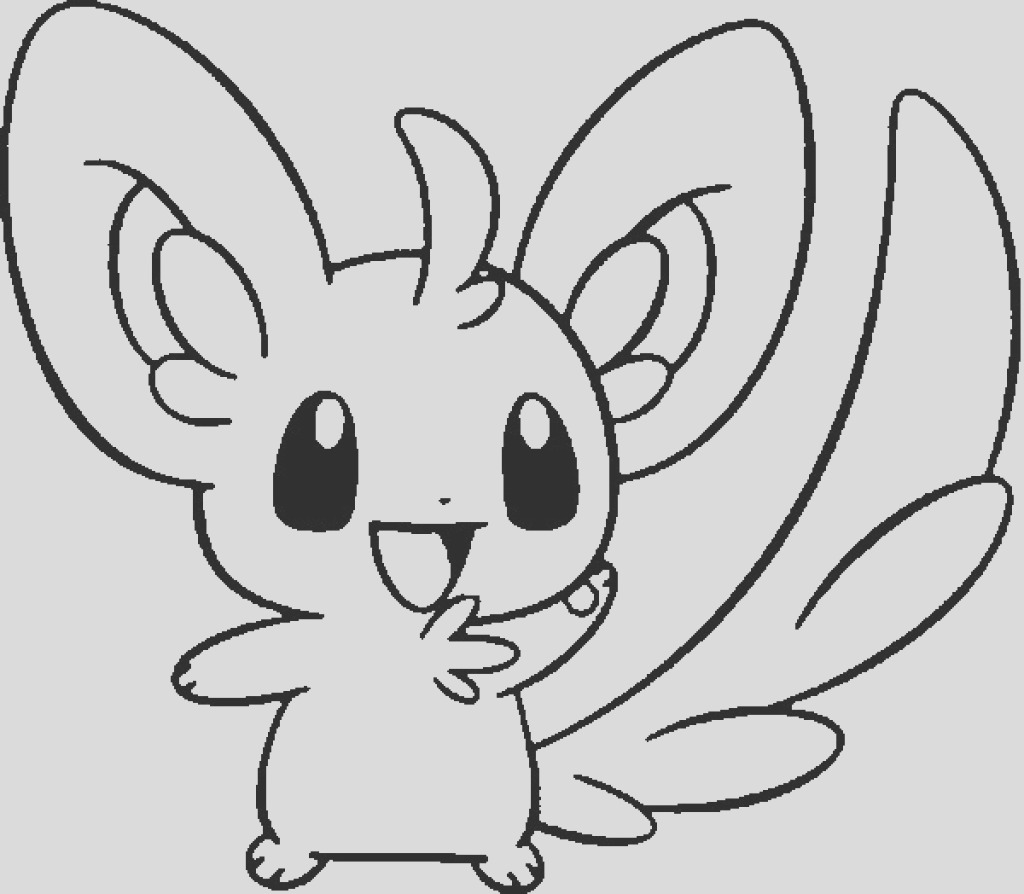 pokemon coloring pages cute