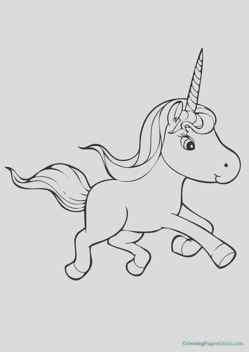 cute unicorn coloring pages 1033