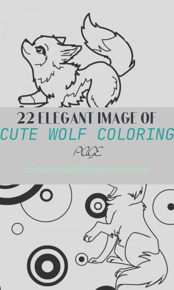 Cute Wolf Coloring Page Luxury Wolf Template Animal Templates