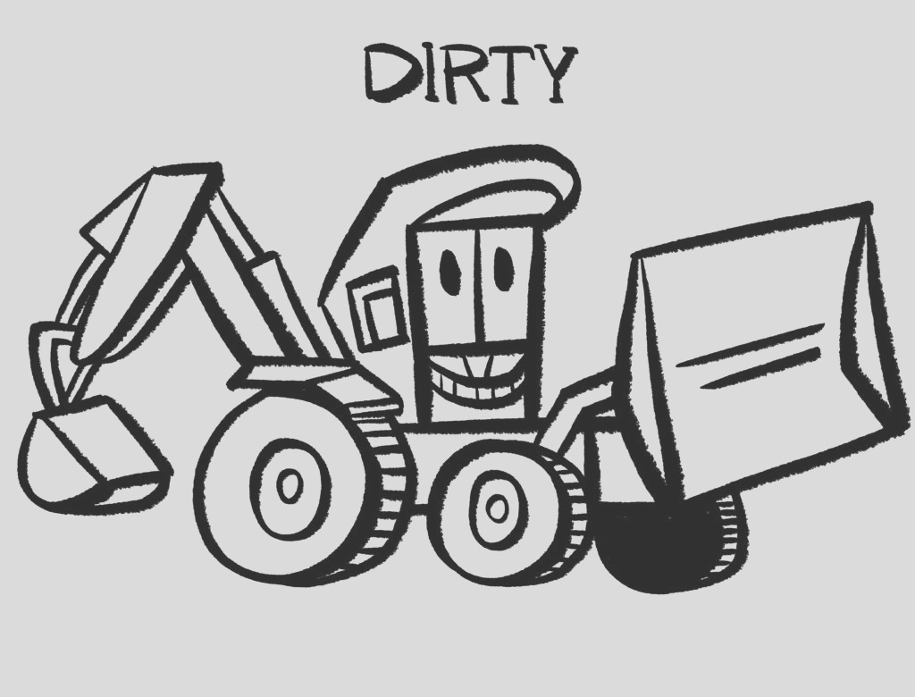 stinky and dirty