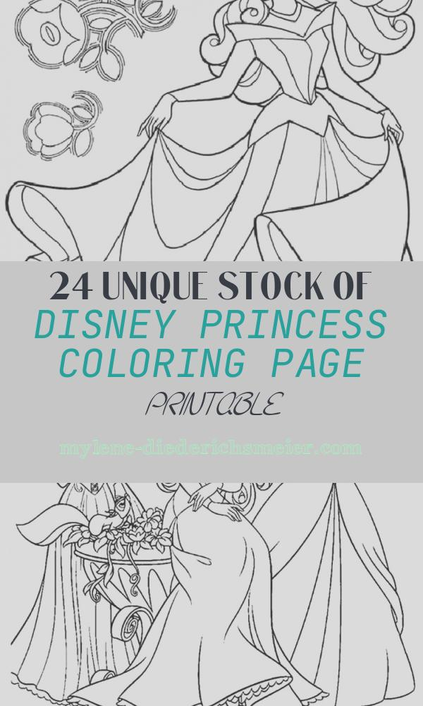 Disney Princess Coloring Page Printable Beautiful Princess Coloring Pages