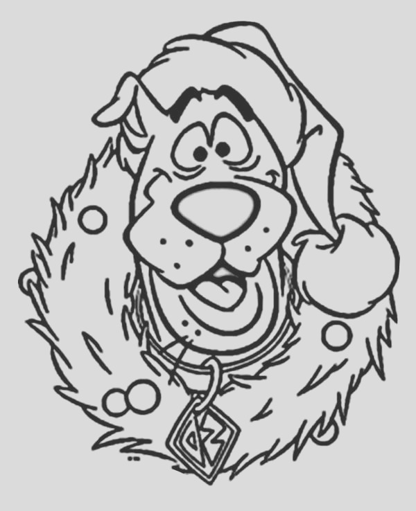 christmas character coloring pages free
