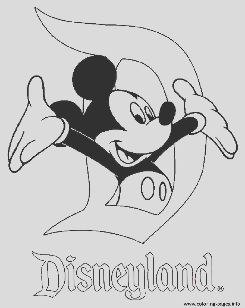 mickey in disneyland disney 120e8 printable coloring pages book 7783