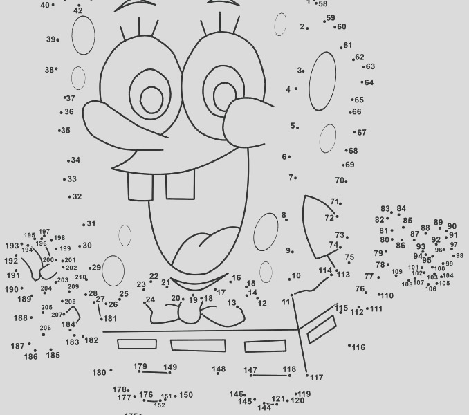 do a dot coloring pages