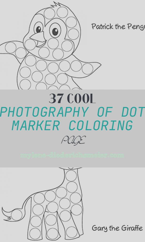 Dot Marker Coloring Page New Animal Edition Dot Marker Activity Sheets 24 Pages Made
