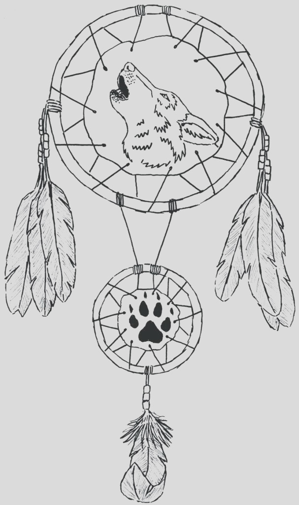 dreamcatcher printable coloring pages