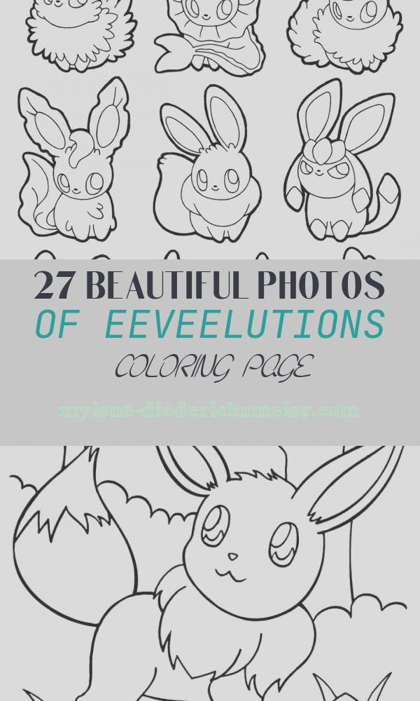 Eeveelutions Coloring Page Lovely Eeveelutions Coloring Pages at Getcolorings