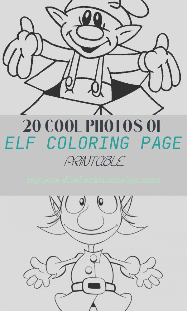 Elf Coloring Page Printable Best Of Free Printable Elf Coloring Pages for Kids