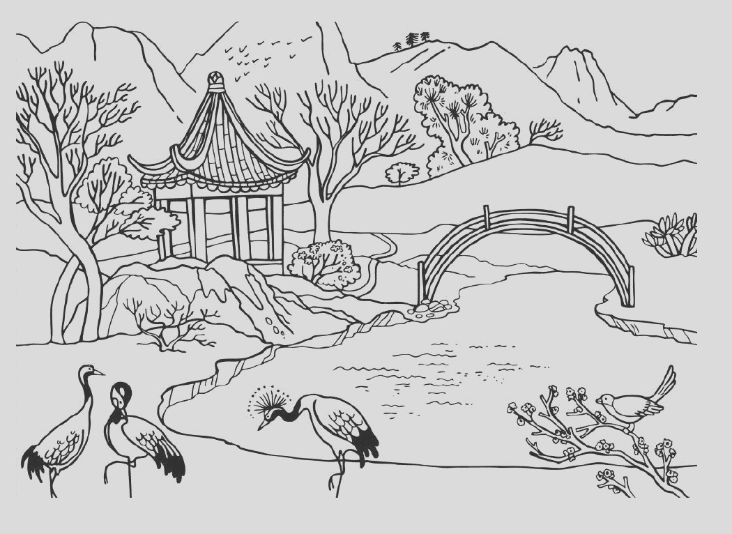 environment coloring pages
