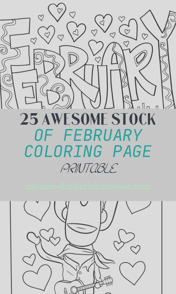 February Coloring Page Printable Unique 20 Free Printable February Coloring Pages