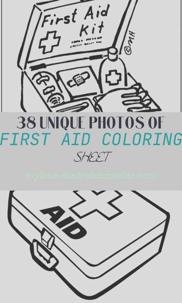 First Aid Coloring Sheet New First Aid Coloring Page
