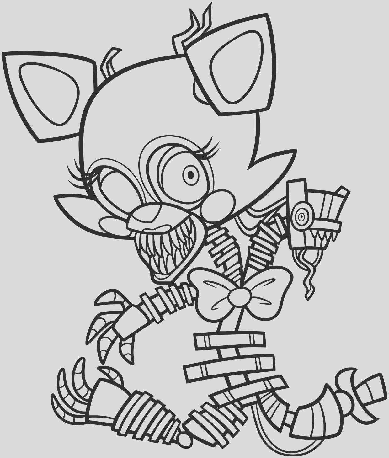 golden freddy coloring pages