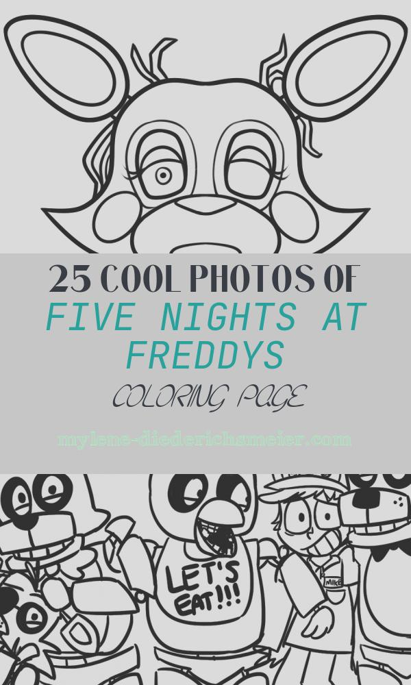 Five Nights at Freddys Coloring Page Best Of Five Nights at Freddy S Coloring Pages