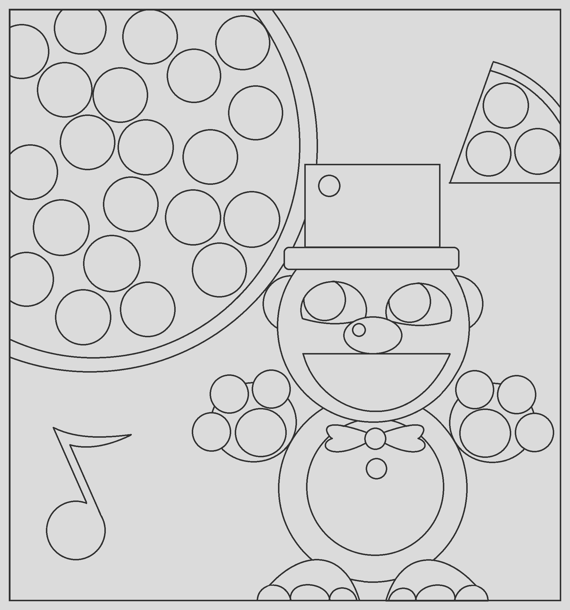 five nights at freddy s freddy coloring page by artistaterra on 3
