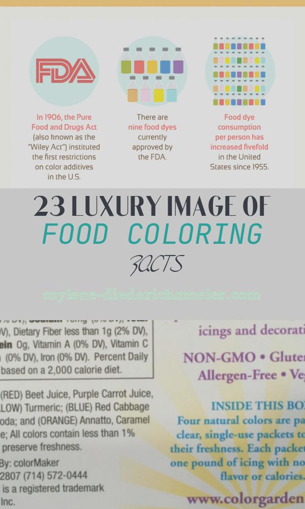 Food Coloring Facts Awesome Golden Opportunity How to Make Your Own Safe Food