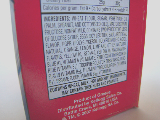 all about food additives