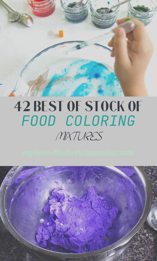 Food Coloring Mixtures Beautiful Marbling with Oil and Food Coloring Easy and Beautiful