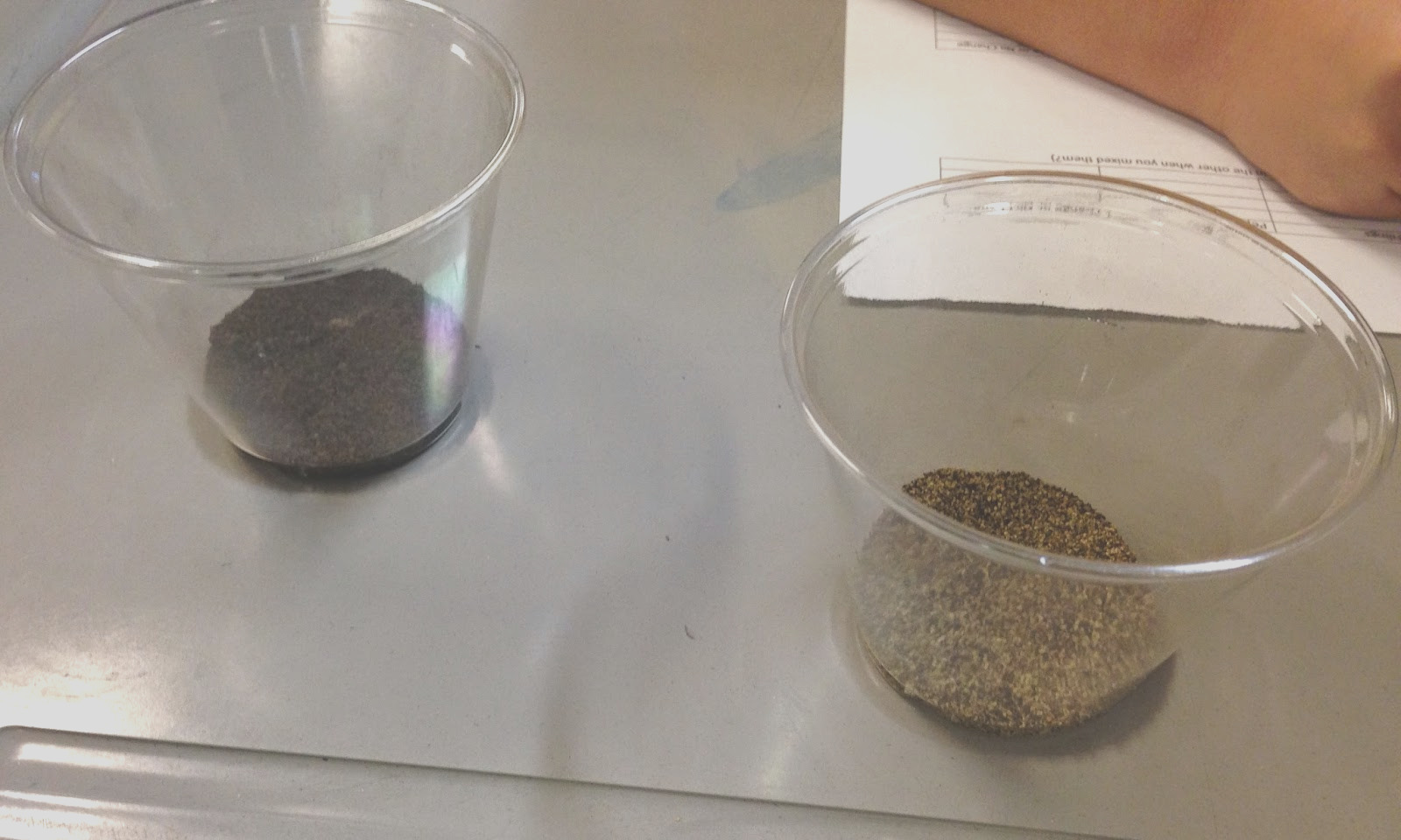 separating mixtures and solutions
