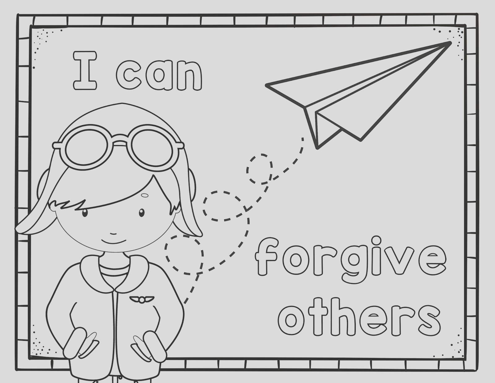 i can forgive others primary lesson