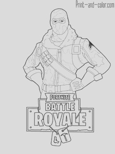 fortnite coloring page collection