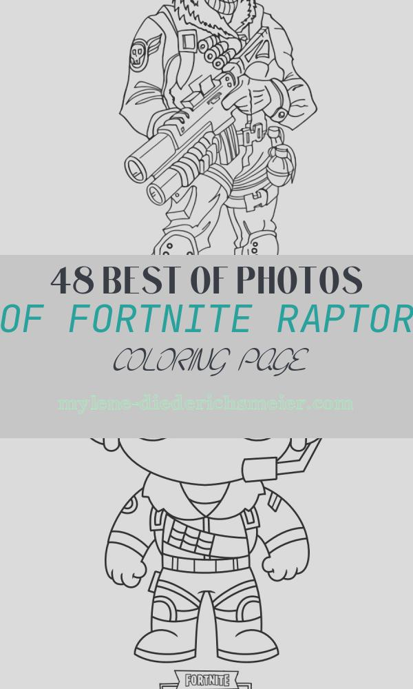 Fortnite Raptor Coloring Page Unique fortnite Coloring Pages