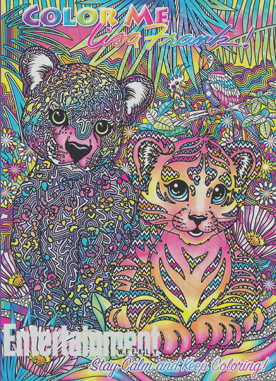 millennials lisa frank coloring books can still make you happy