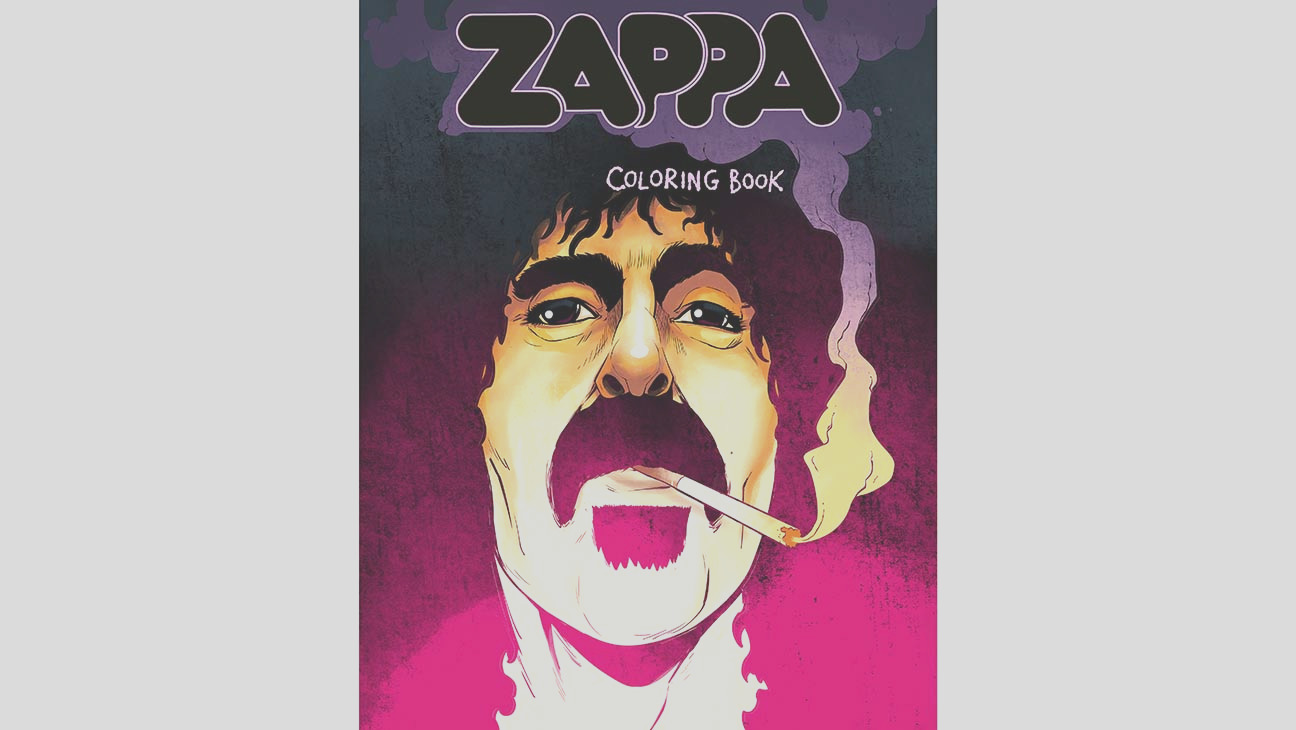 frank zappa coloring book be released october