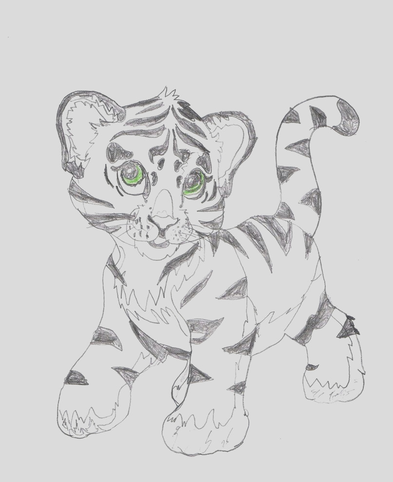 lisa frank tiger coloring pages