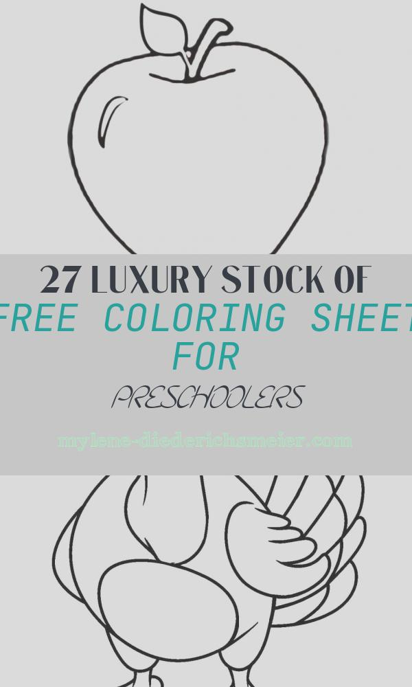 Free Coloring Sheet for Preschoolers New Free Printable Preschool Coloring Pages Best Coloring