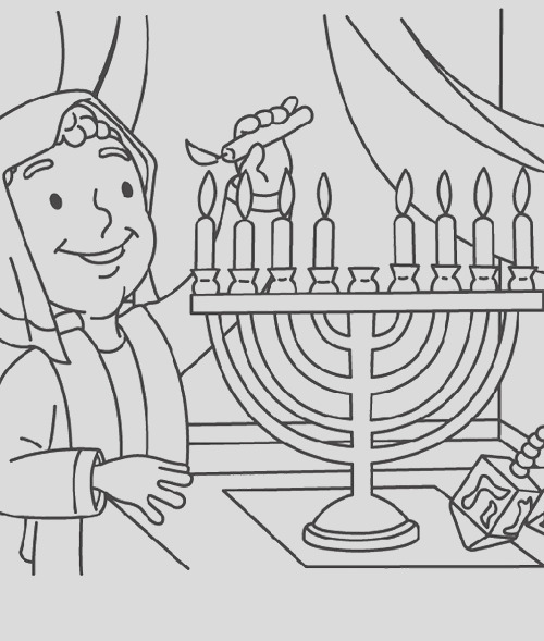 hanukkah coloring pages free coloring pages for kids 16