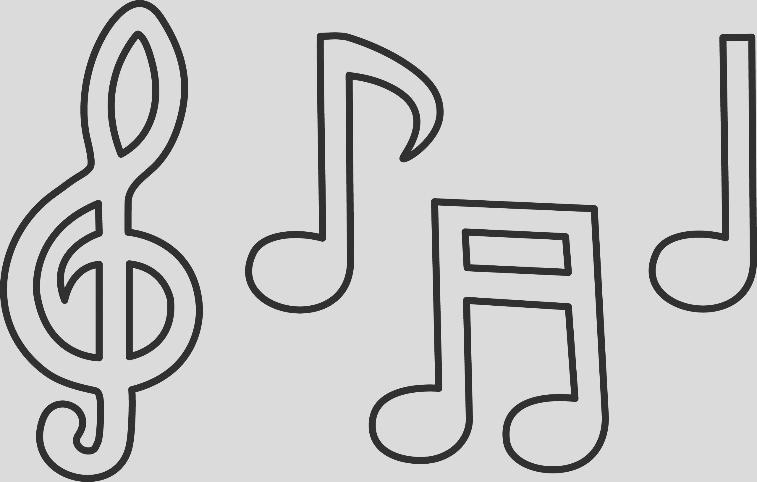 music note coloring pages