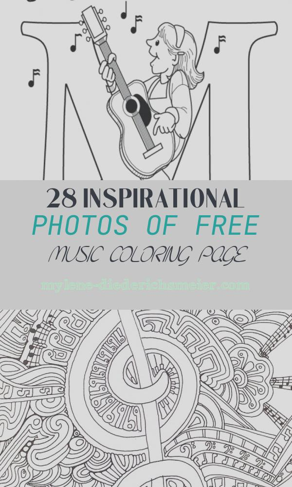 Free Music Coloring Page Elegant 20 Free Printable Music Coloring Pages Everfreecoloring