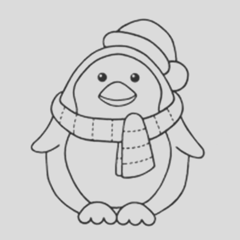 penguin coloring pages 11 2