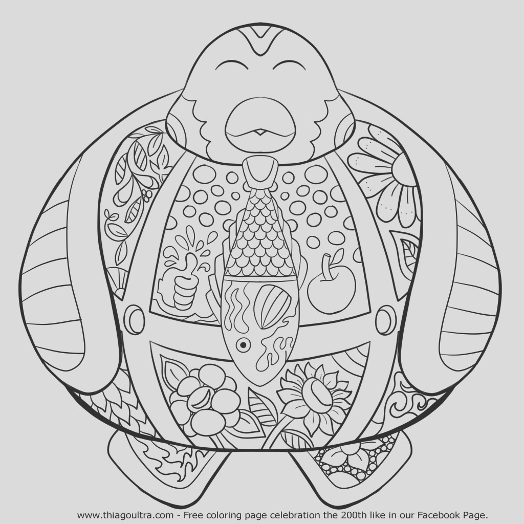 200th like happy penguin memorative free coloring page