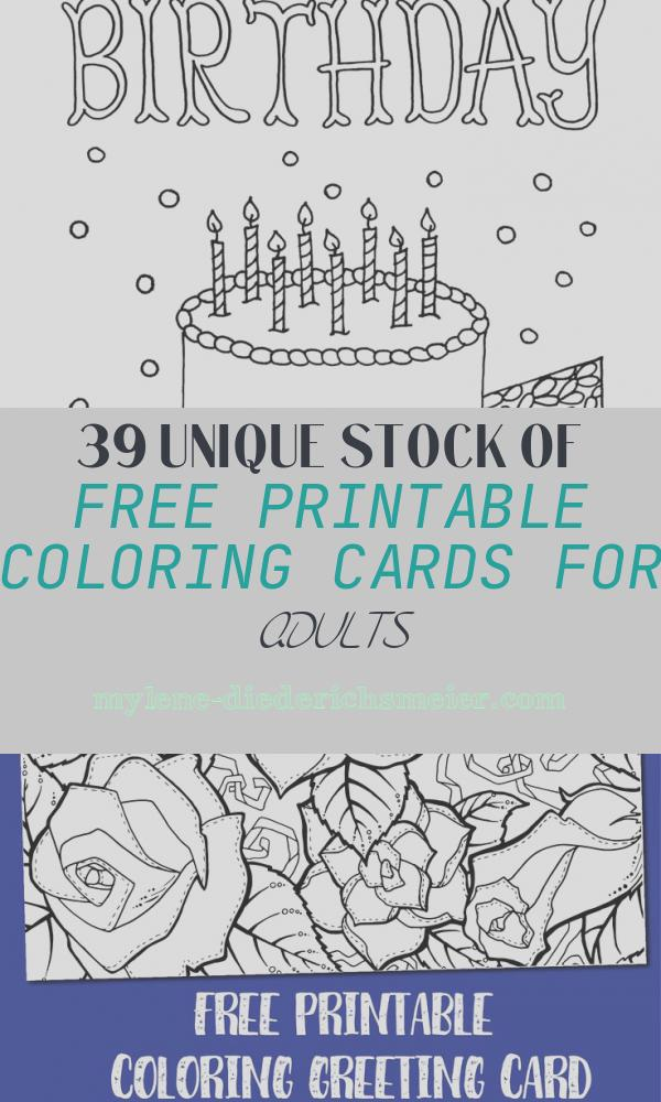 Free Printable Coloring Cards for Adults Lovely Free Downloadable Adult Coloring Greeting Cards