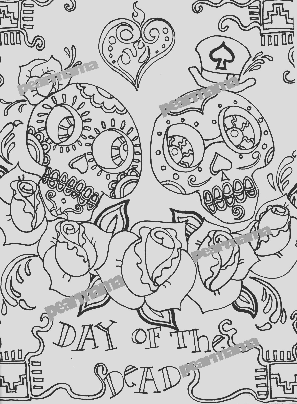 day of dead activity plan