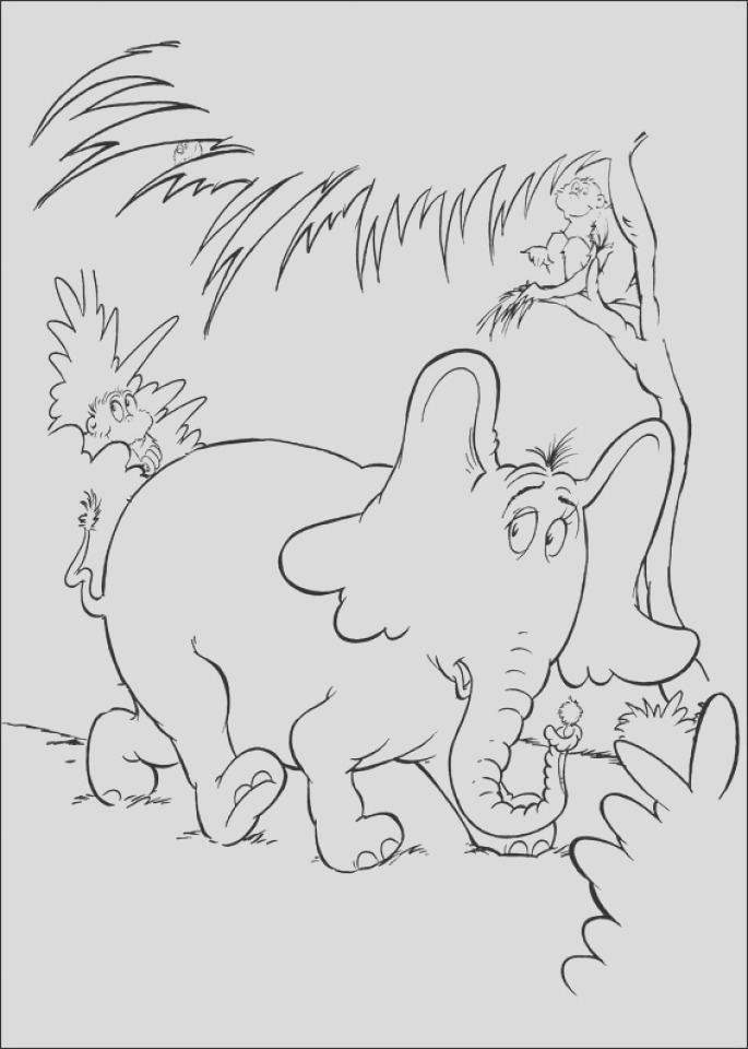 printable dr seuss coloring pages online