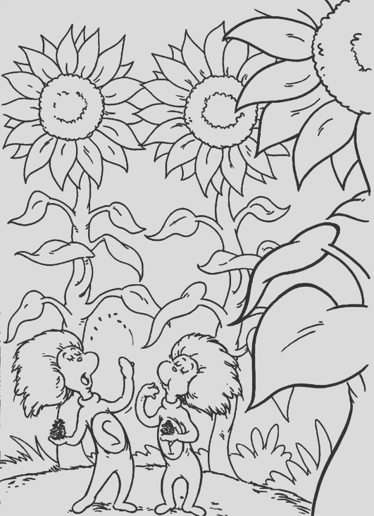 dr seuss printable coloring pages