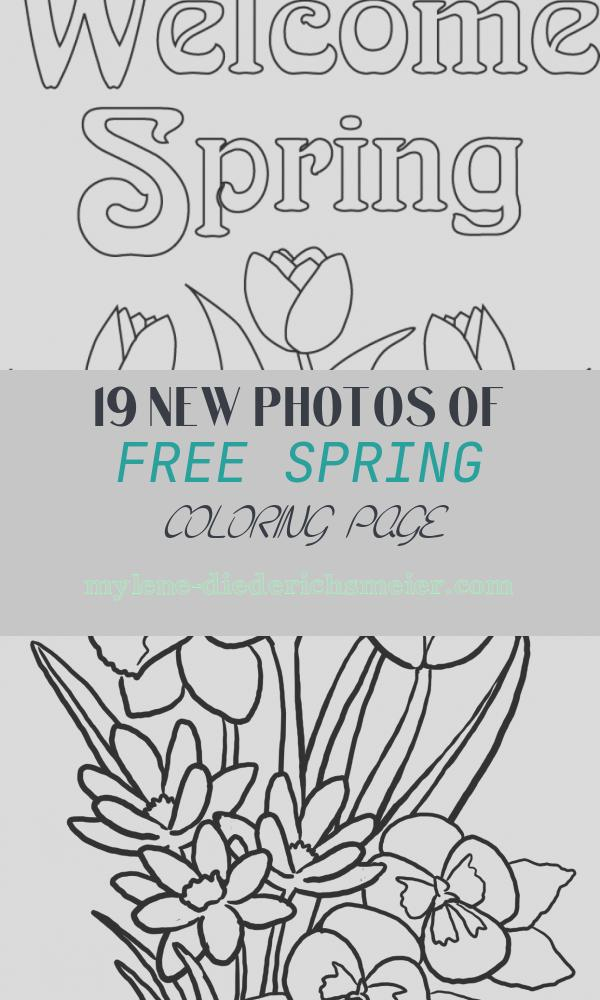 Free Spring Coloring Page Best Of Free Spring Coloring Pages Download Free Clip Art Free