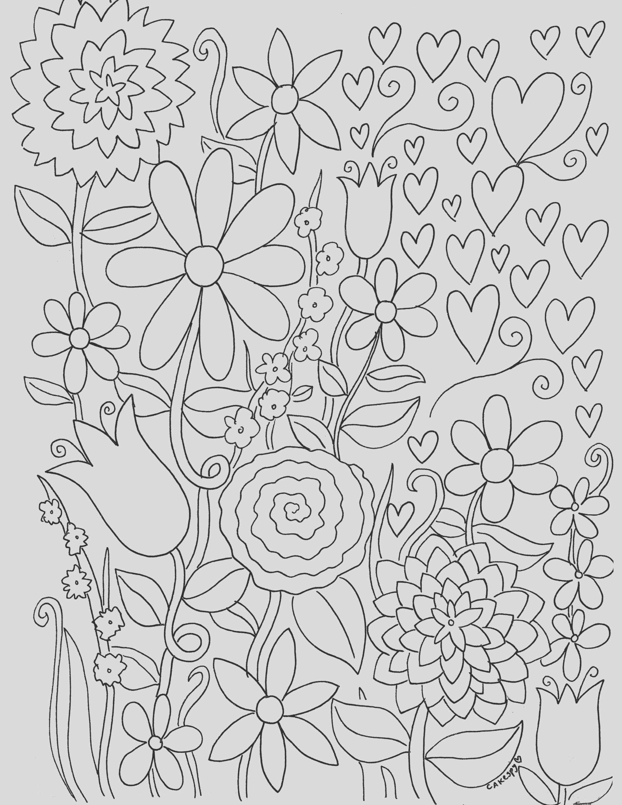free stress relief coloring pages