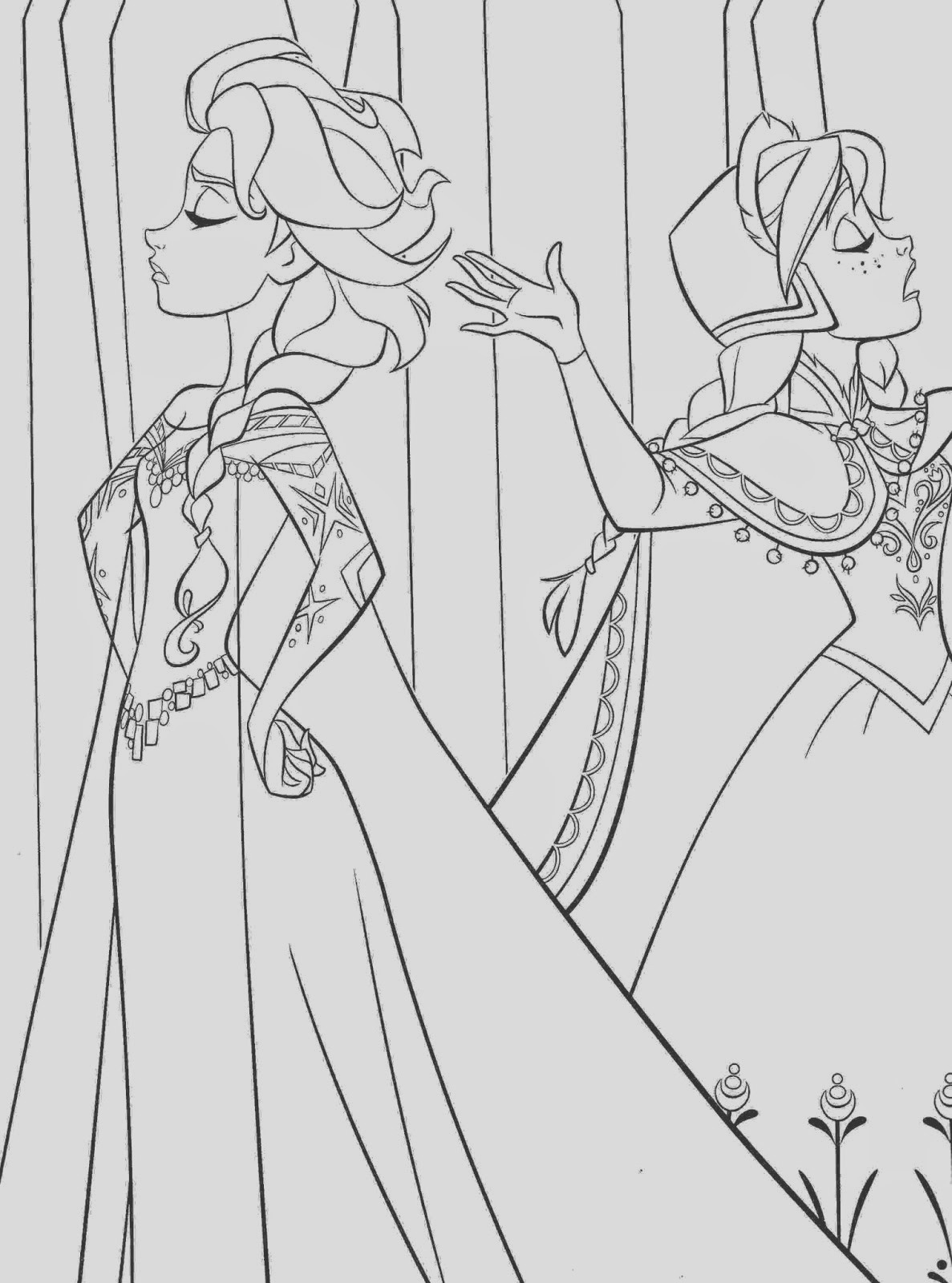 17 best beautiful coloring pages frozen