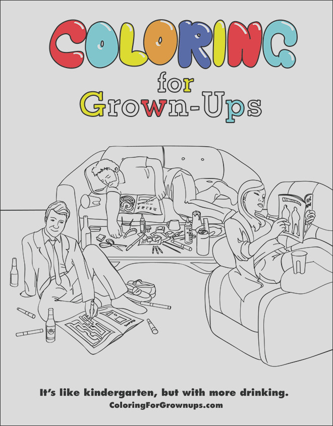 coloring book for grown ups 2