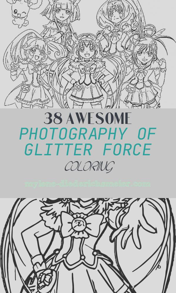 Glitter force Coloring Elegant Glitter force Coloring Pages Mostly Custom