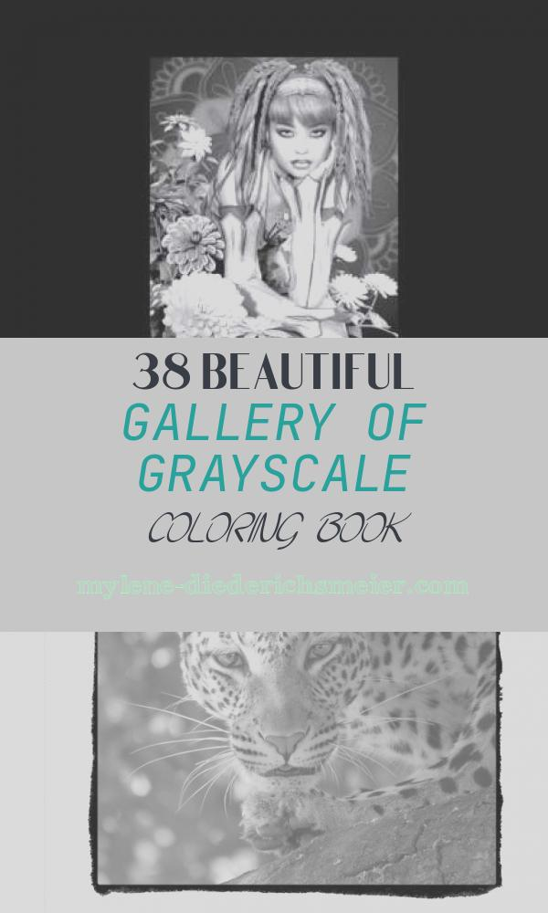 Grayscale Coloring Book Luxury Fabulous Females Grayscale Image Coloring Book for Adults